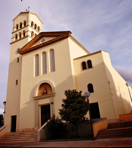 Pl. de l'Església de Móra la Nova